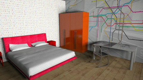 Bedroom in plastic - Bedroom - by Convers
