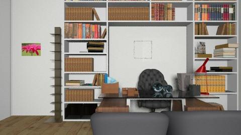 escritorio  de casa - Glamour - Dining room - by rosangela78