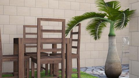Backyard - Classic - Garden - by AArtistic