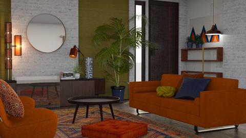 m i d c e n t - Living room - by Kelli Mallory