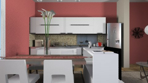 Living dinning for HCm 2 - Eclectic - Dining room - by liling