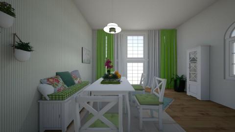Xmas Dining Room - by ajalahgriggs
