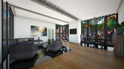 rainy - Living room - by Elvira  Elvira
