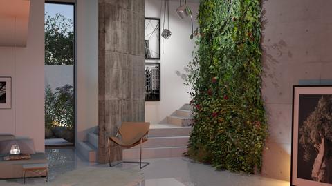 green wall 5 - by bnu