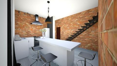 2 - Retro - Kitchen - by ewcia11115555