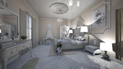bedroom 1 - Bedroom - by Evgeniya Levchenko