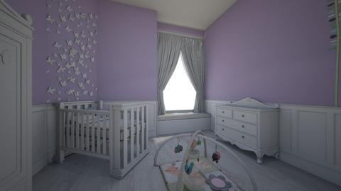 CUNABABY - Kids room - by Amairany Peralta