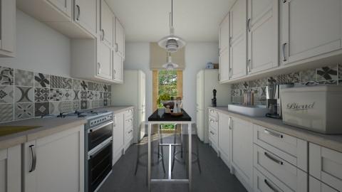 sardinia kitchen - Classic - Kitchen - by gloria marietti