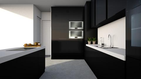 BLACK - Kitchen - by NadineHerwig