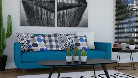 BLUEe - Living room - by TeA design Belgrade