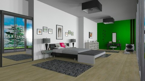 far wall - Minimal - Bedroom - by mrschicken