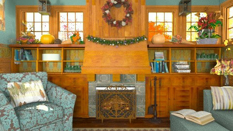 Bountiful - Vintage - Living room - by starsector