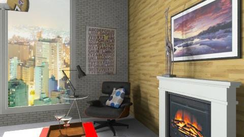 Hypster - Living room - by carolinafer