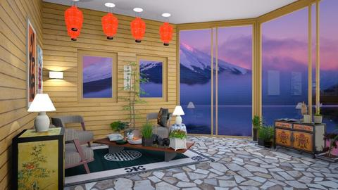 Japan - Classic - Living room - by Isaacarchitect