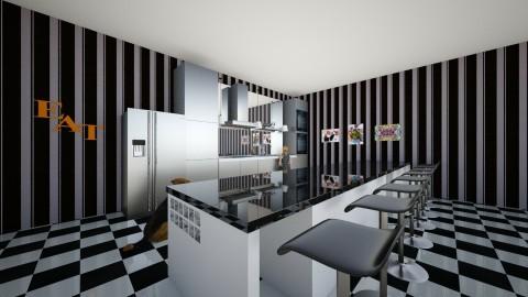 Retro Kitchen - Retro - Kitchen - by cheerfulelestia