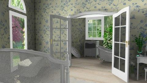 Laura Bedroom - Feminine - Bedroom - by missjojo