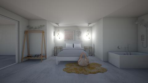 basement bedroom - Bedroom - by earthygirl112