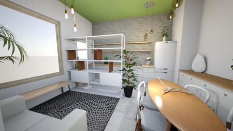 Novo Brancp mesa160 - Living room - by picroger