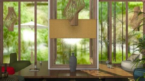 Teien veiw (cajual?) - Retro - Living room - by Kjami