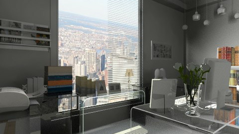 minimalist office - Minimal - Office - by Siska Natalya