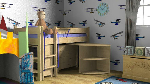 kids room 2 - Glamour - Kids room - by RedLipSticK