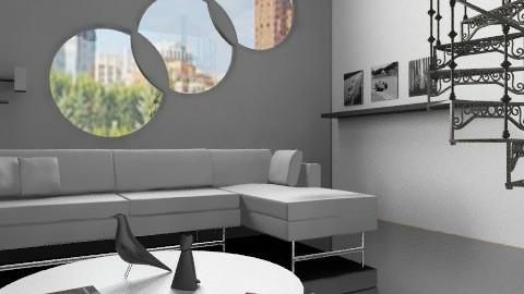 ML_2 - Minimal - Living room - by milyca8