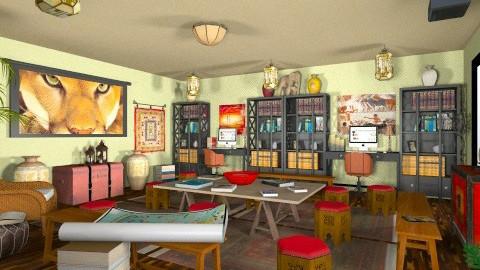 Humanities Classroom - Global - Kids room - by aestamatiou