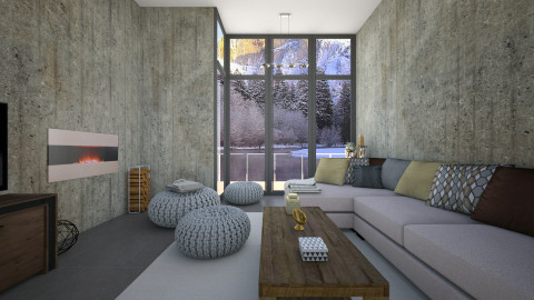 Winter wonderland - Modern - Living room - by martinabb