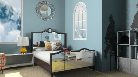 primary bedroom - Modern - Bedroom - by phatpiggy13