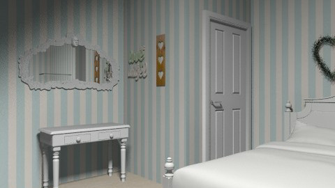 Simple elagence - Vintage - Bedroom - by HoneyDazzle