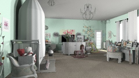 lucky  - Eclectic - Kids room - by nataliaMSG