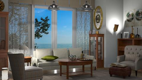 Template Baywindow Room - Living room - by milyca8