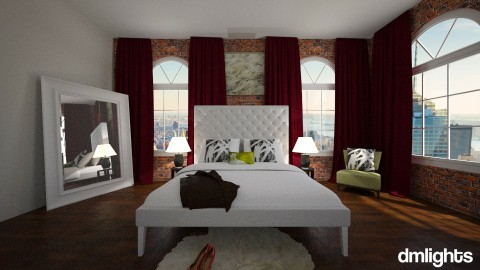 NYC Studio bed - Living room - by DMLights-user-1564420