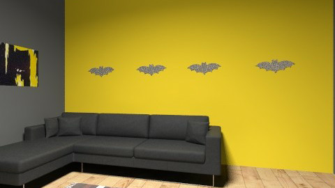 i am batman - Living room - by gecko4537