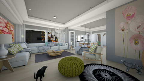 Ground Floor panorama - Modern - Living room - by sometimes i am here