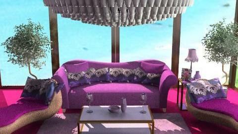 David Garniks Room - Retro - Bedroom - by jroquet