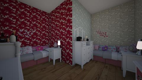 Tatiana and Tiana Room - Kids room - by Jordin12