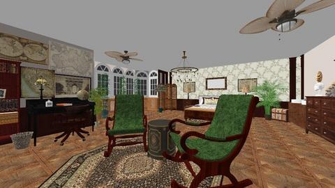 Ada Bart - Retro - Bedroom - by AdaBart