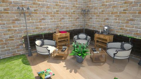 garden patio - Modern - Garden - by PSophie