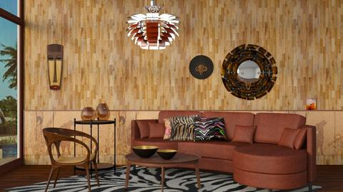 M_Africa - Living room - by milyca8
