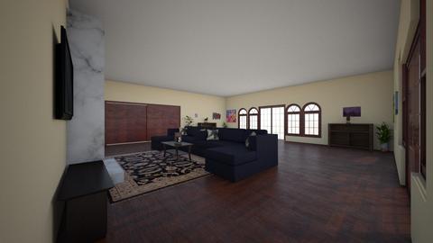 foyer  - Living room - by jenniferdove629