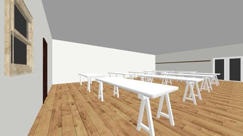 South Hall  - Minimal - Dining room - by justindgreen