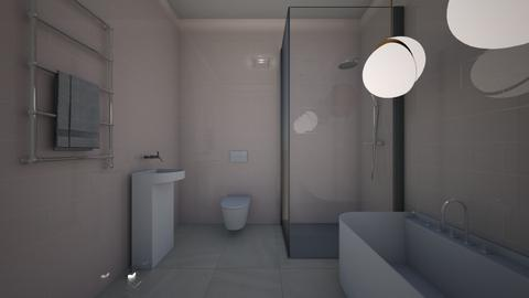 Pinky - Minimal - Bathroom - by jaiden2006