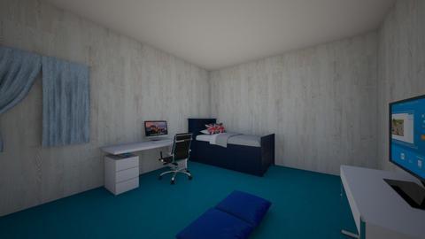 Noah Sanchez - Bedroom - by alumnes