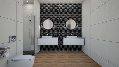 rustic bathroom - Bathroom - by rickglassinteriors