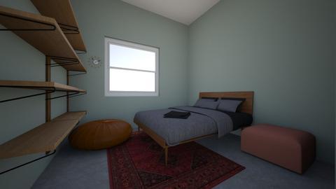 Espoo_vierashuone - Bedroom - by Essi_eames
