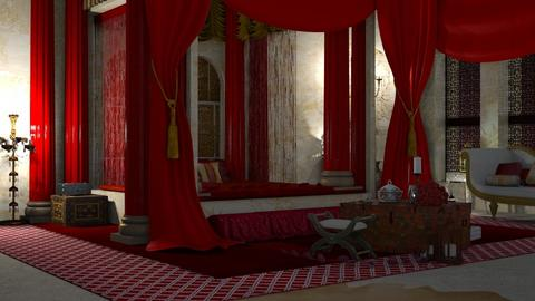 aladdin - Bedroom - by elyssaumber