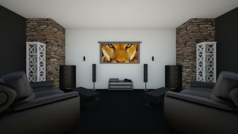 Home Cinema  - Classic - by Justin Lunn