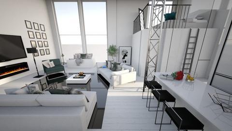 loft - Living room - by Denies90