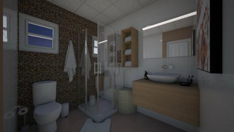 Apto Quarto Sala Casal - Modern - Bathroom - by Mariesse Paim